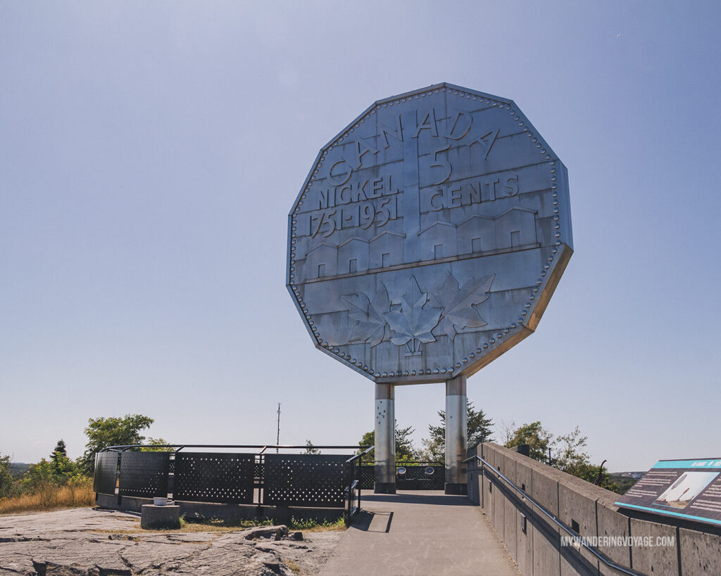 Big Nickel Sudbury | Toronto to Thunder Bay: a 10-day Northern Ontario road trip along Lake Superior's spectacular coast | My Wandering Voyage travel blog #LakeSuperior #RoadTrip #Ontario #Canada #travel