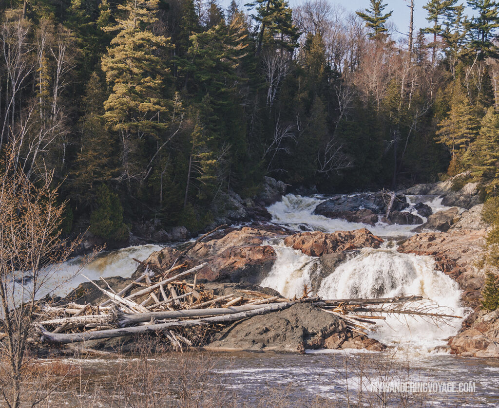 Chippewa Falls | Toronto to Thunder Bay: a 10-day Northern Ontario road trip along Lake Superior's spectacular coast | My Wandering Voyage travel blog #LakeSuperior #RoadTrip #Ontario #Canada #travel