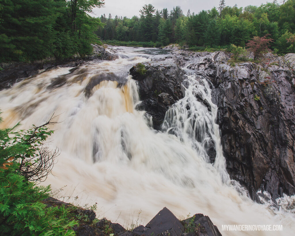 Chutes Provincial Park | Toronto to Thunder Bay: a 10-day Northern Ontario road trip along Lake Superior's spectacular coast | My Wandering Voyage travel blog #LakeSuperior #RoadTrip #Ontario #Canada #travel