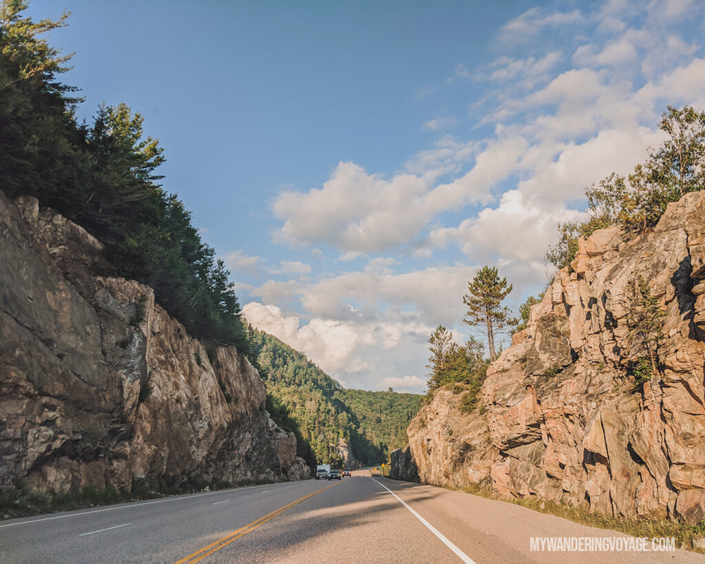 Trans Canada Highway | Toronto to Thunder Bay: a 10-day Northern Ontario road trip along Lake Superior's spectacular coast | My Wandering Voyage travel blog #LakeSuperior #RoadTrip #Ontario #Canada #travel