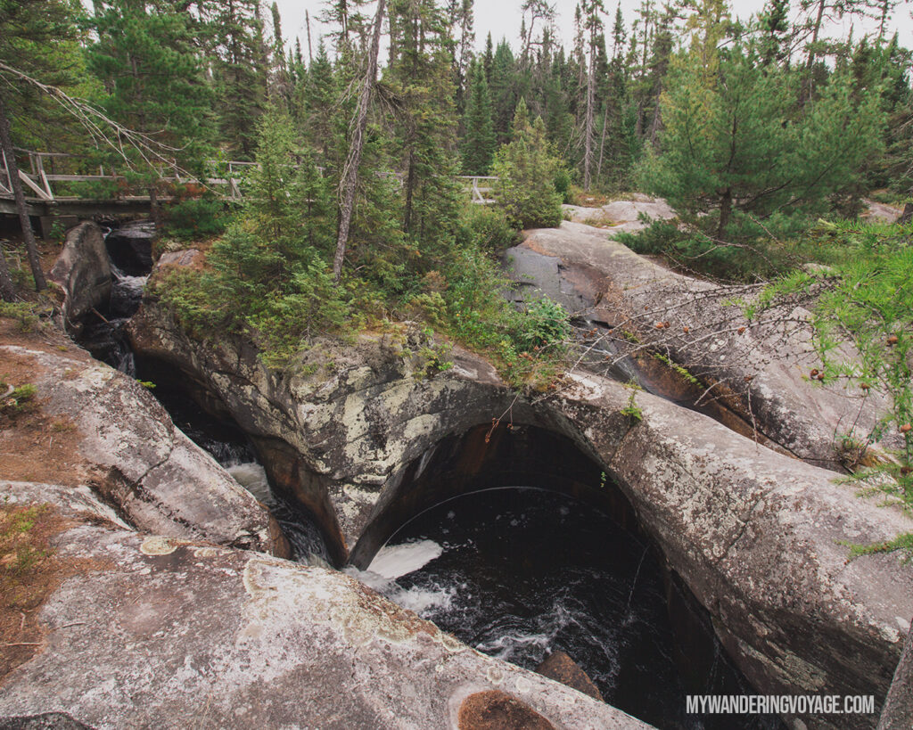 Potholes Provincial Park | Toronto to Thunder Bay: a 10-day Northern Ontario road trip along Lake Superior's spectacular coast | My Wandering Voyage travel blog #LakeSuperior #RoadTrip #Ontario #Canada #travel