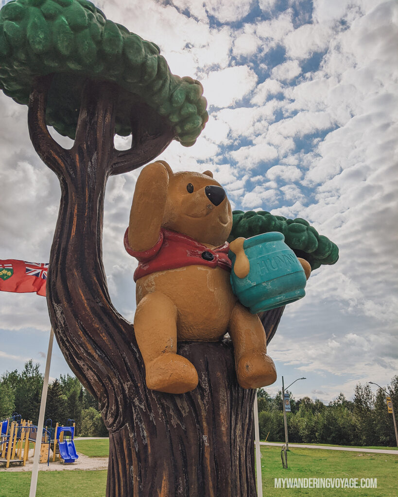 Winnie the Pooh White River | Toronto to Thunder Bay: a 10-day Northern Ontario road trip along Lake Superior's spectacular coast | My Wandering Voyage travel blog #LakeSuperior #RoadTrip #Ontario #Canada #travel