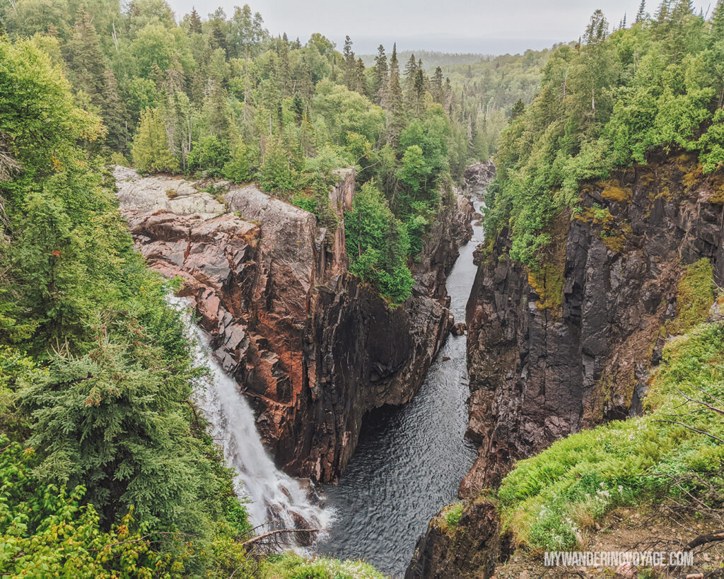 Aguasabon Falls | Toronto to Thunder Bay: a 10-day Northern Ontario road trip along Lake Superior's spectacular coast | My Wandering Voyage travel blog #LakeSuperior #RoadTrip #Ontario #Canada #travel