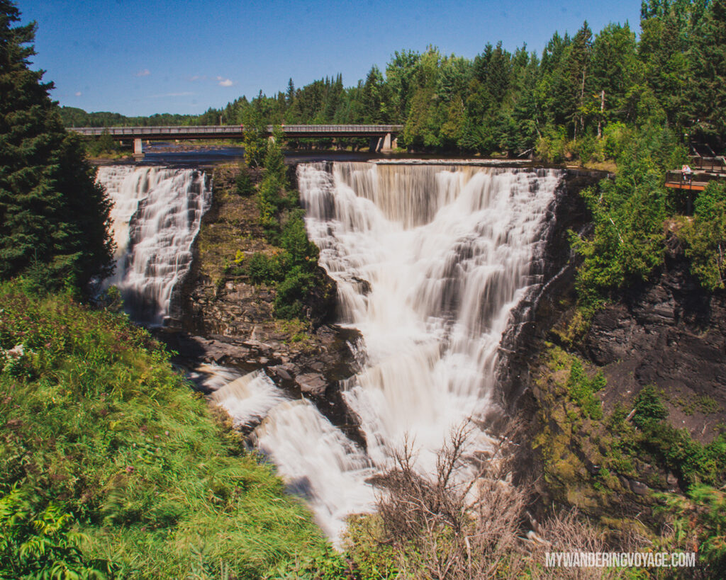 Kakabeka Falls Provincial Park | Toronto to Thunder Bay: a 10-day Northern Ontario road trip along Lake Superior's spectacular coast | My Wandering Voyage travel blog #LakeSuperior #RoadTrip #Ontario #Canada #travel
