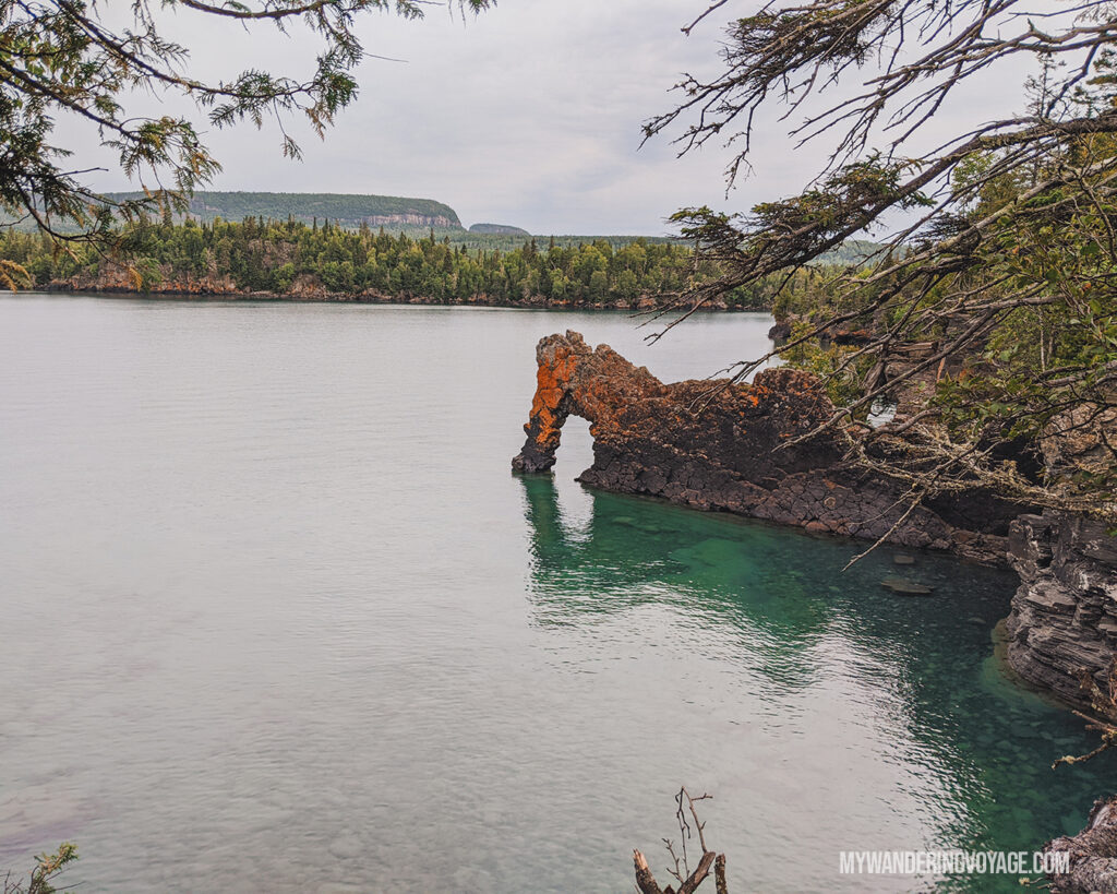 Sea Lion rock formation in Sleeping Giant Provincial Park | Toronto to Thunder Bay: a 10-day Northern Ontario road trip along Lake Superior's spectacular coast | My Wandering Voyage travel blog #LakeSuperior #RoadTrip #Ontario #Canada #travel