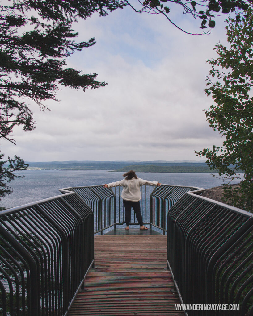 Thunder Bay lookout | Toronto to Thunder Bay: a 10-day Northern Ontario road trip along Lake Superior's spectacular coast | My Wandering Voyage travel blog #LakeSuperior #RoadTrip #Ontario #Canada #travel