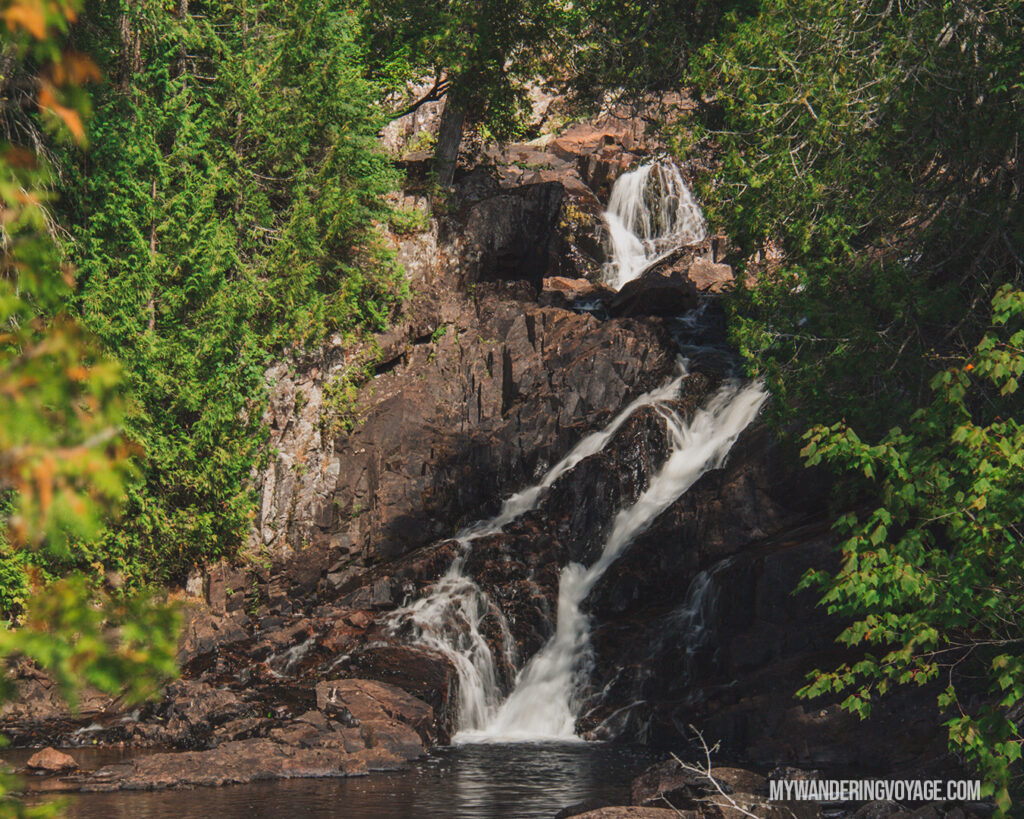 Rainbow Falls Provincial Park | Toronto to Thunder Bay: a 10-day Northern Ontario road trip along Lake Superior's spectacular coast | My Wandering Voyage travel blog #LakeSuperior #RoadTrip #Ontario #Canada #travel