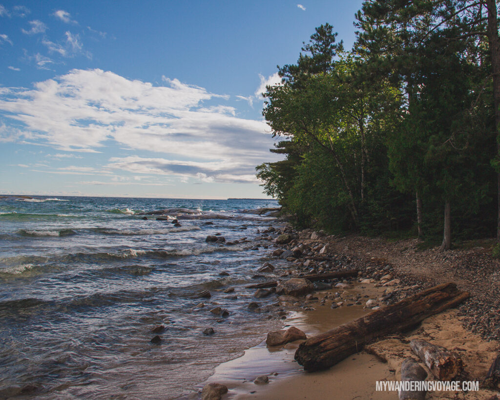 Katherine Cove | Toronto to Thunder Bay: a 10-day Northern Ontario road trip along Lake Superior's spectacular coast | My Wandering Voyage travel blog #LakeSuperior #RoadTrip #Ontario #Canada #travel