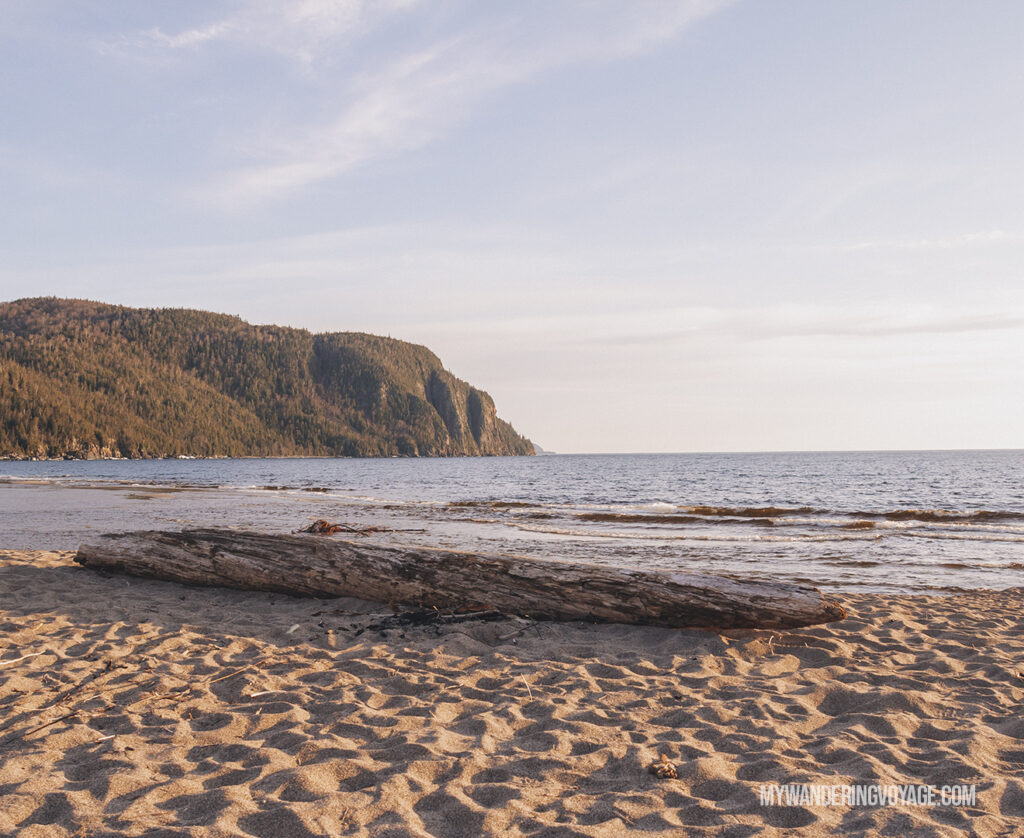 Old Woman Bay Lake Superior Provincial Park | Toronto to Thunder Bay: a 10-day Northern Ontario road trip along Lake Superior's spectacular coast | My Wandering Voyage travel blog #LakeSuperior #RoadTrip #Ontario #Canada #travel