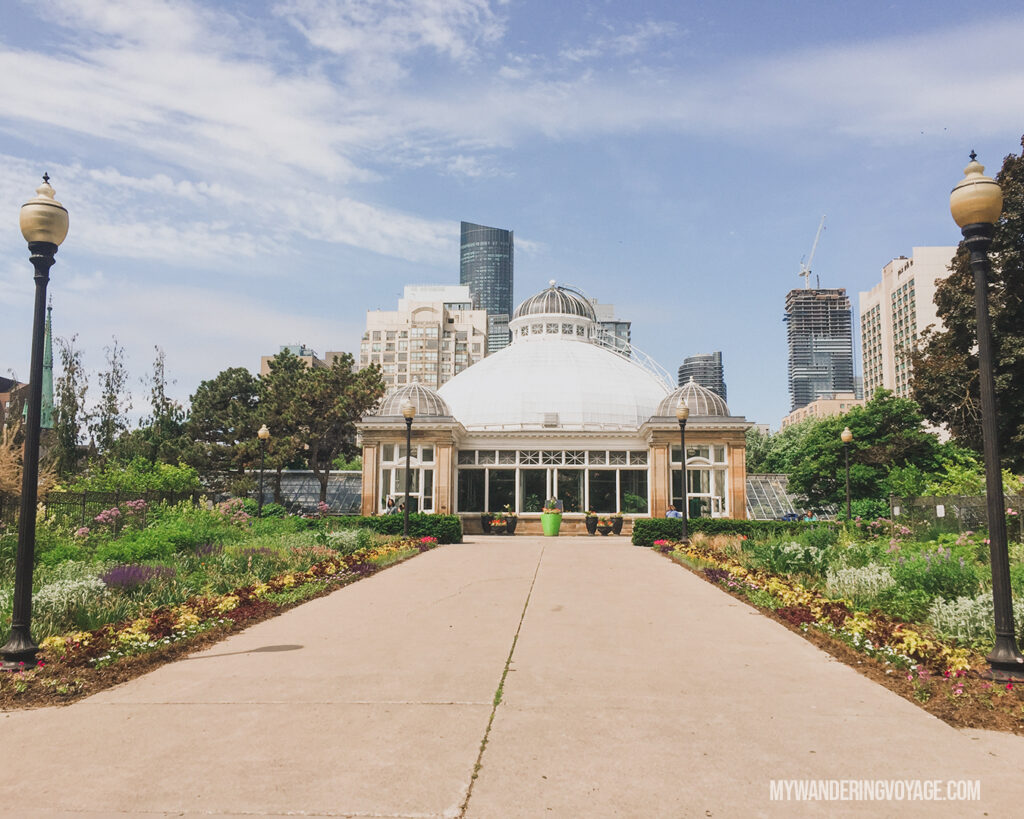 Allan Botanical Garden |100 Unforgettable Ontario experiences that make the perfect gifts | My Wandering Voyage #Travel Blog #Ontario #GiftIdea #GiftExperiences