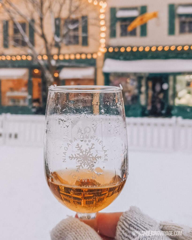 Ice wine tasting in Niagara-on-the-Lake |100 Unforgettable Ontario experiences that make the perfect gifts | My Wandering Voyage #Travel Blog #Ontario #GiftIdea #GiftExperiences