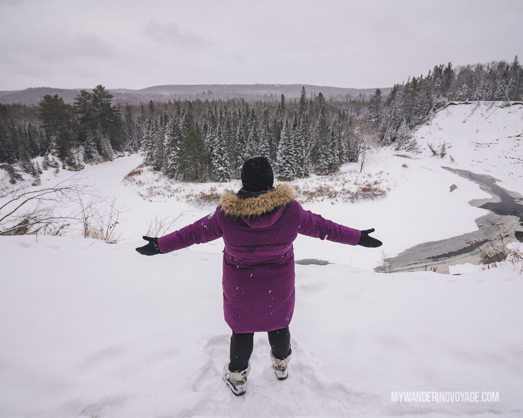 Arrowhead Provincial Park | Stellar places for snowshoeing in Ontario | My Wandering Voyage travel blog #travel #winterexercise #snowshoeing #Ontario #Canada