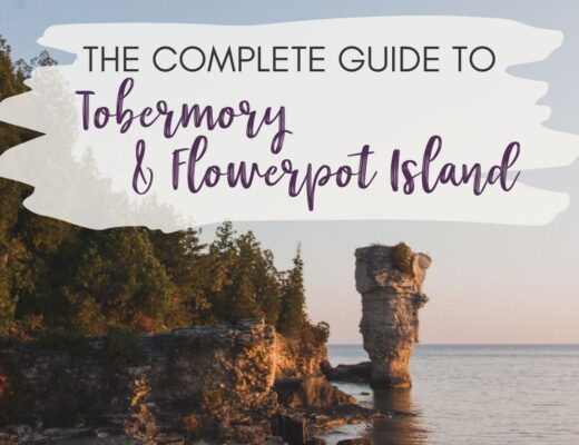 See the stars and watch the sunrise on Flowerpot Island near Tobermory, Ontario. Flowerpot Island camping lets you have the island (almost) entirely to yourself. This guide aims to give you everything you need to know to have an incredible experience in Tobermory and Flowerpot Island.