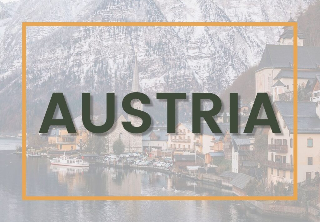 Best things to do in Austria | Austria Destinations Graphic