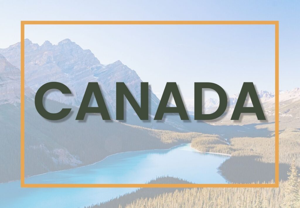 Best things to do in Canada | Canada Destination Graphic