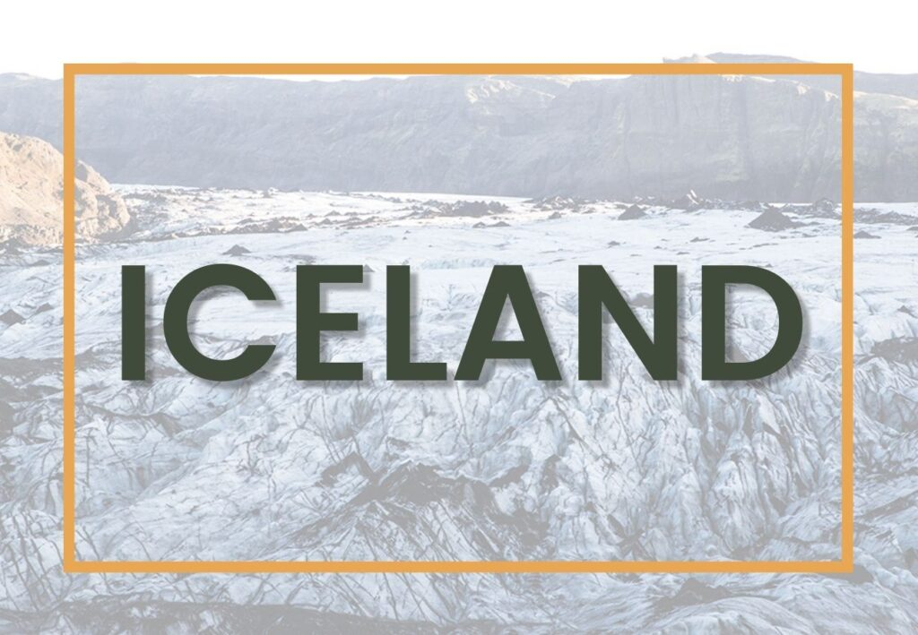 Best things to di In Iceland | Iceland Destination Graphic