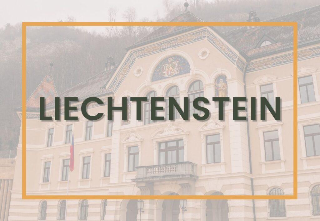 Best things to do in Liechtenstein | Liechtenstein Destinations Graphic