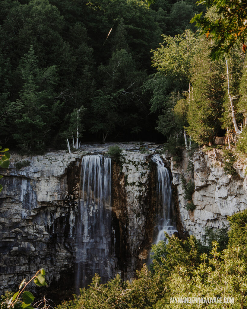 Eugenia Falls, Ontario | Check out these incredible Grey County waterfalls in the Winter | My Wandering Voyage travel blog #Wintertravel #WinterWaterfalls #Waterfall #Ontario #Canada #Travel