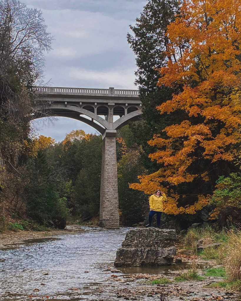 Elora Gorge Conservation Area | Best places to go camping in Ontario | My Wandering Voyage travel blog
