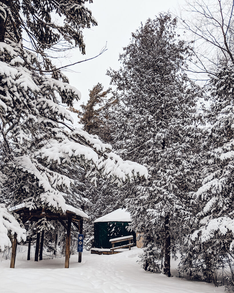 MacGregor Point Provincial Park winter camping | Best places to go camping in Ontario | My Wandering Voyage travel blog
