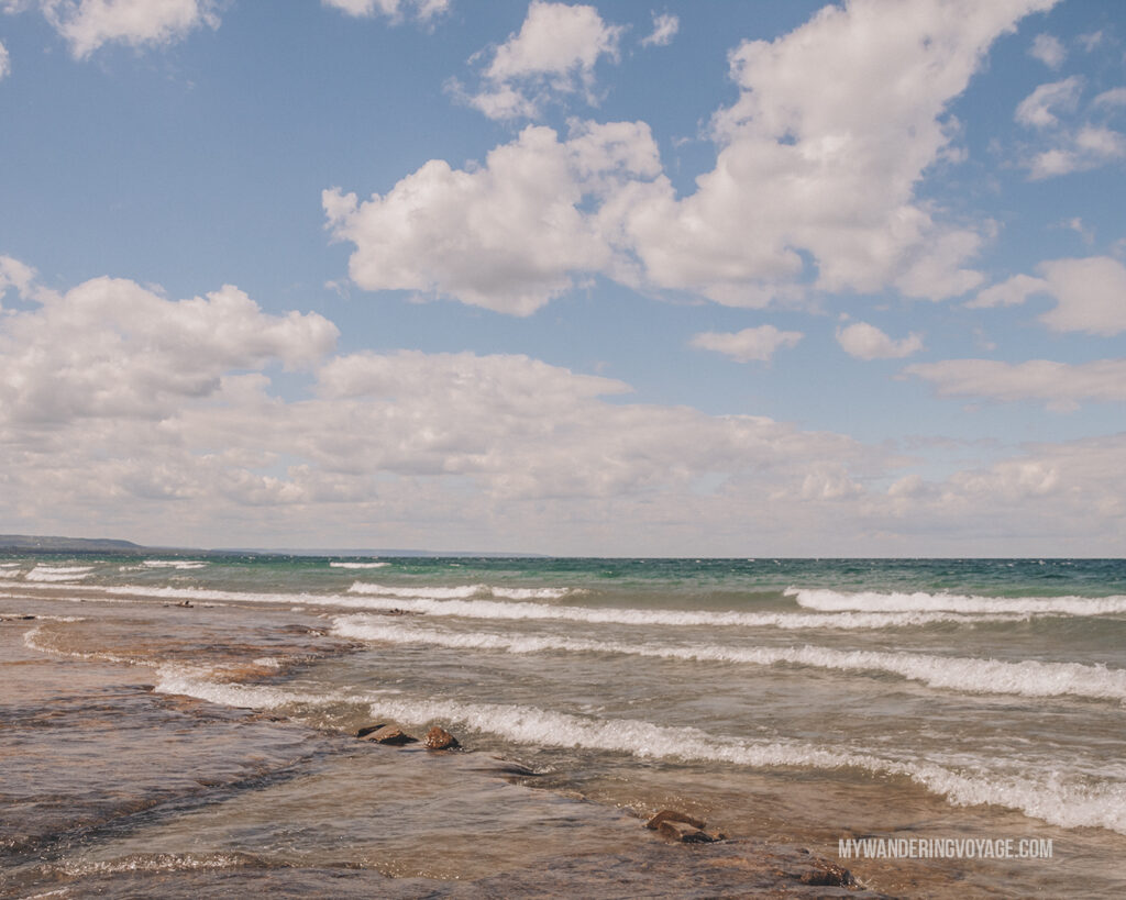 Craigleith Provincial Park | Best places to go camping in Ontario | My Wandering Voyage travel blog