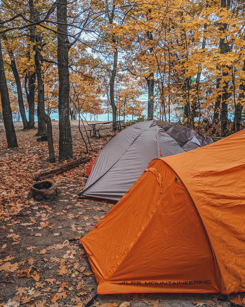 Killbear Provincial Park | Best places to go camping in Ontario | My Wandering Voyage travel blog