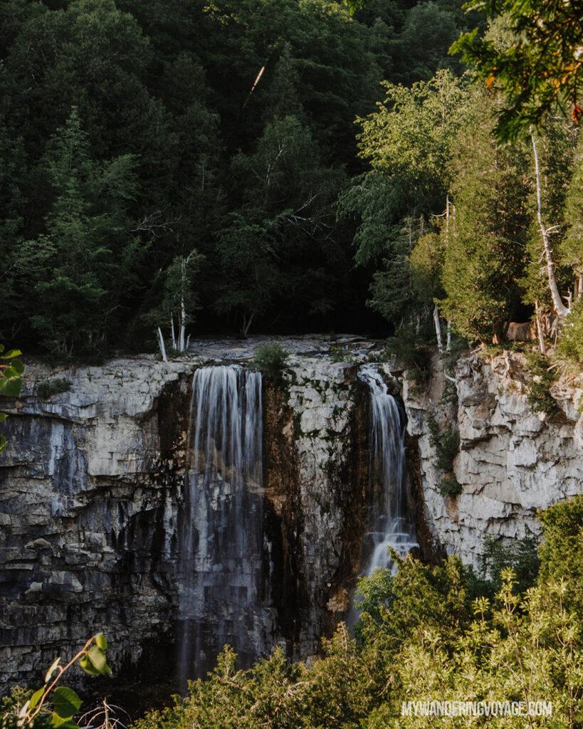 eugenia falls beaver valley | Best Hikes in Ontario | My Wandering Voyage travel blog