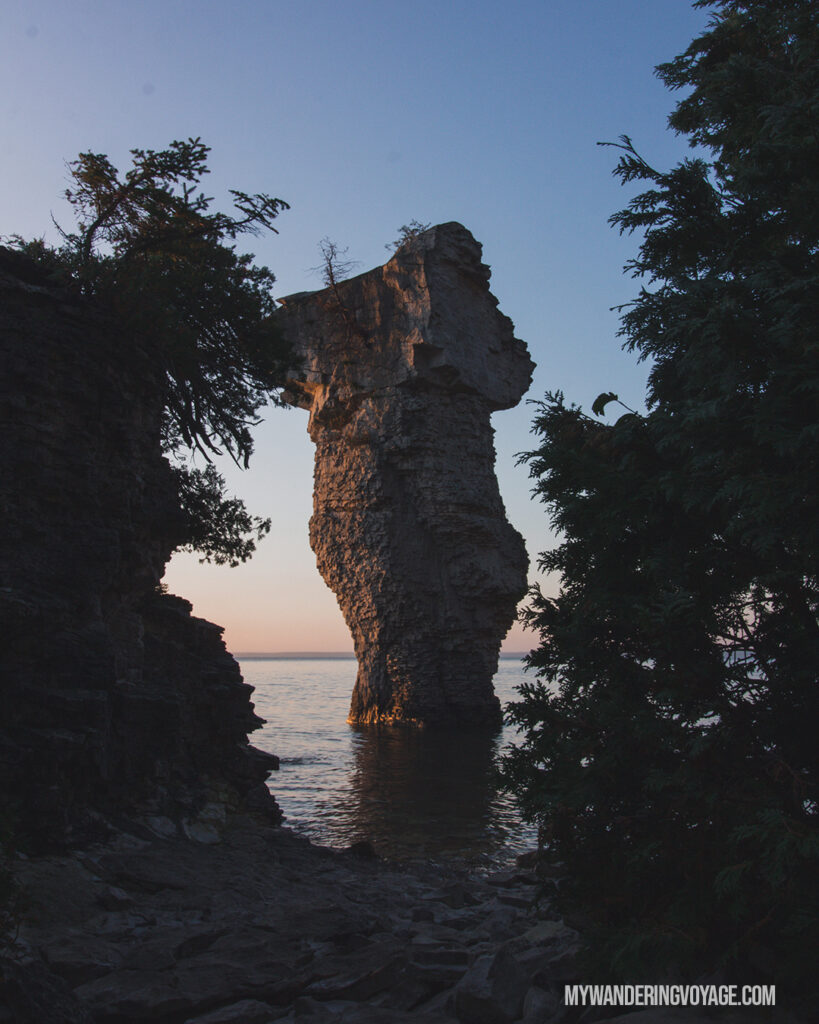 flower pot island | Best Hikes in Ontario | My Wandering Voyage travel blog