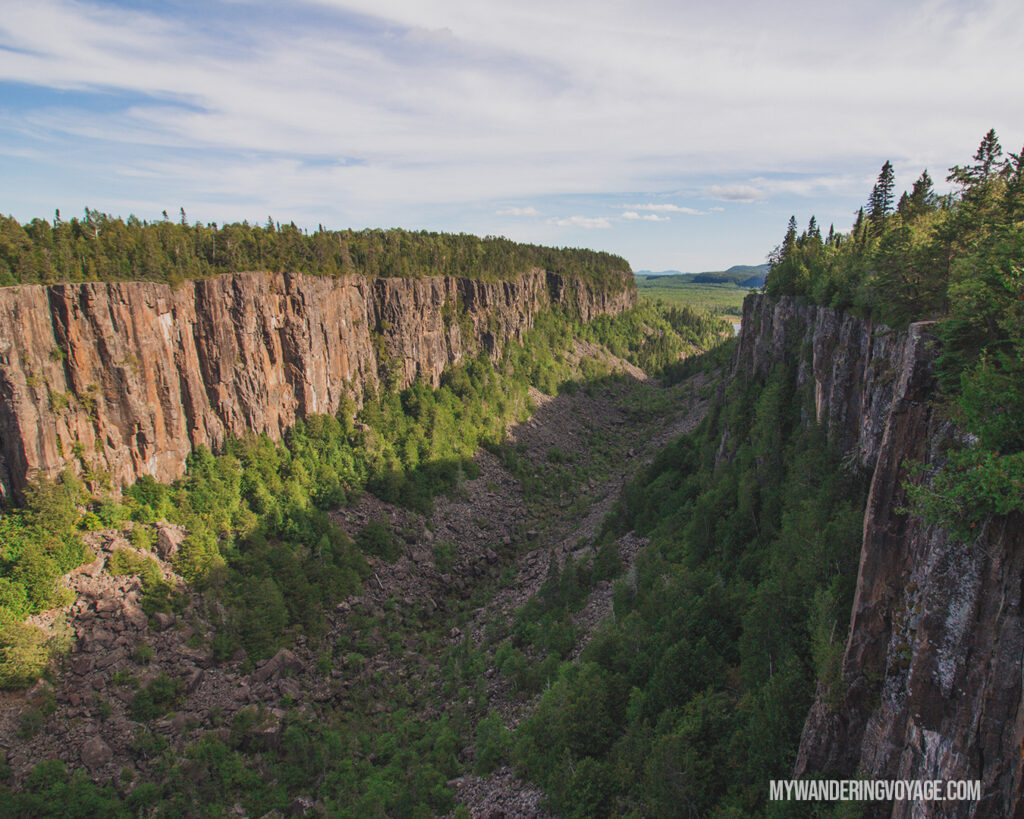 Ouimet Canyon | Best Hikes in Ontario | My Wandering Voyage travel blog | #Travel #Hikes #Ontario #Canada