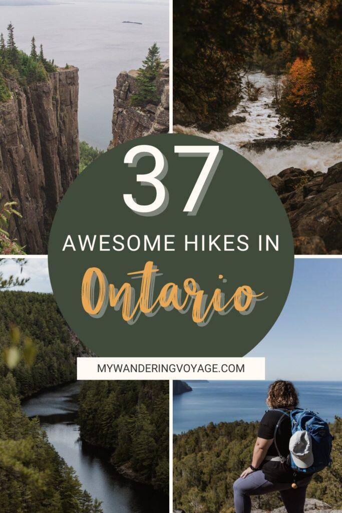 | Best Hikes in Ontario | My Wandering Voyage travel blog