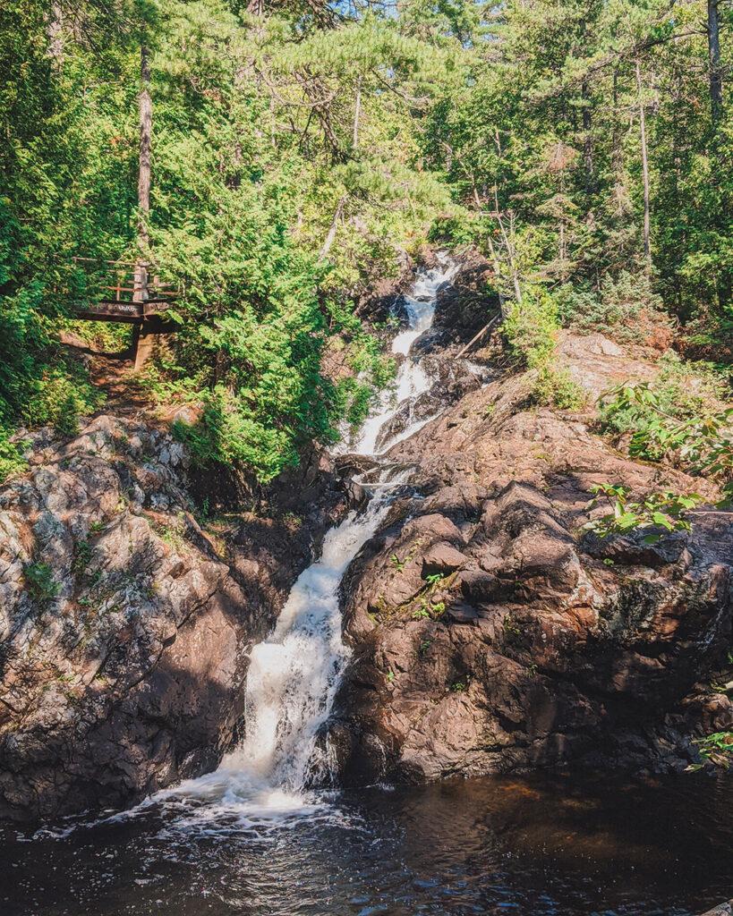 crystal falls sudbury | Best Hikes in Ontario | My Wandering Voyage travel blog