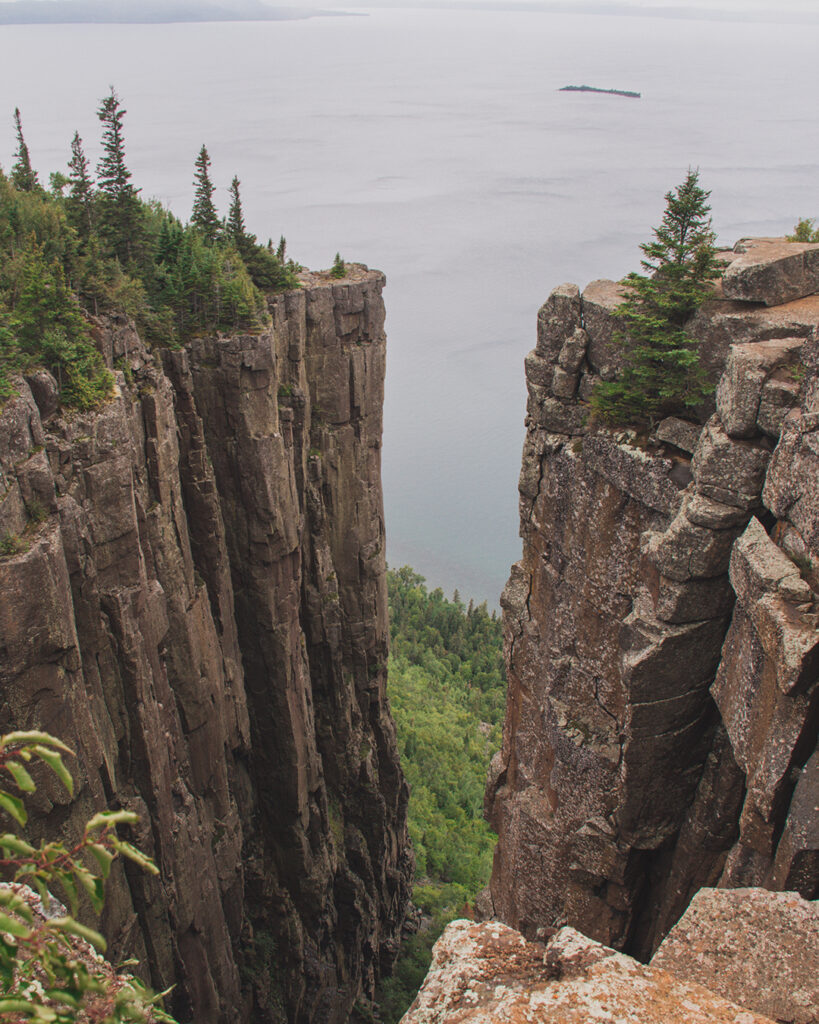 top of the giant trail sleeping giant | Best Hikes in Ontario | My Wandering Voyage travel blog